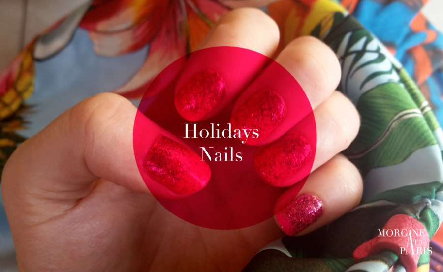 holidays nails par morgane at paris